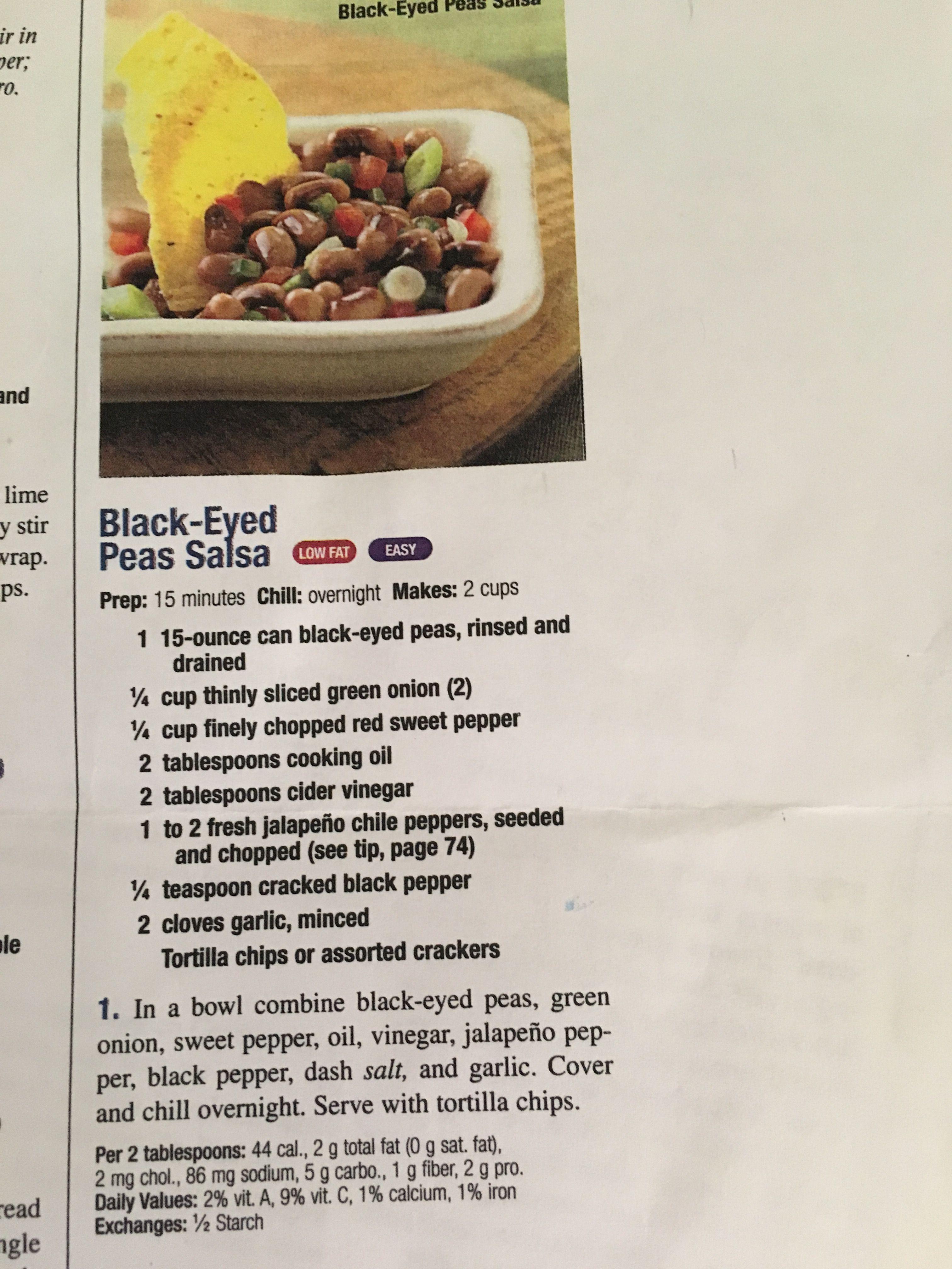 Black Eyed Pea Salsa Food Stuffed Sweet Peppers Black