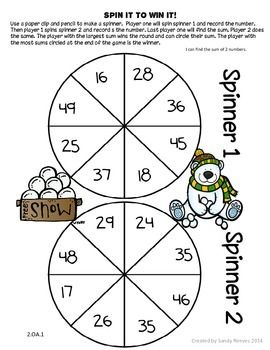 photo relating to Subtraction With Regrouping Games Printable named Freebie 2-Digit Addition and Subtraction with Regrouping