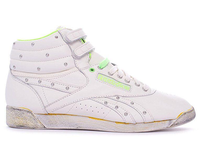 Reebok Classic F S Hi Damen Sneakers Weiss Womens Sneakers White Sneakers Women Sneakers