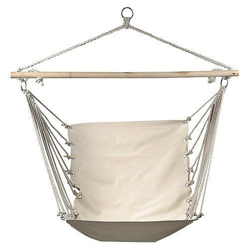 new  natural canvas cotton rope hammock chair   sky air swing   indoor outdoor new  natural canvas cotton rope hammock chair   sky air swing      rh   pinterest