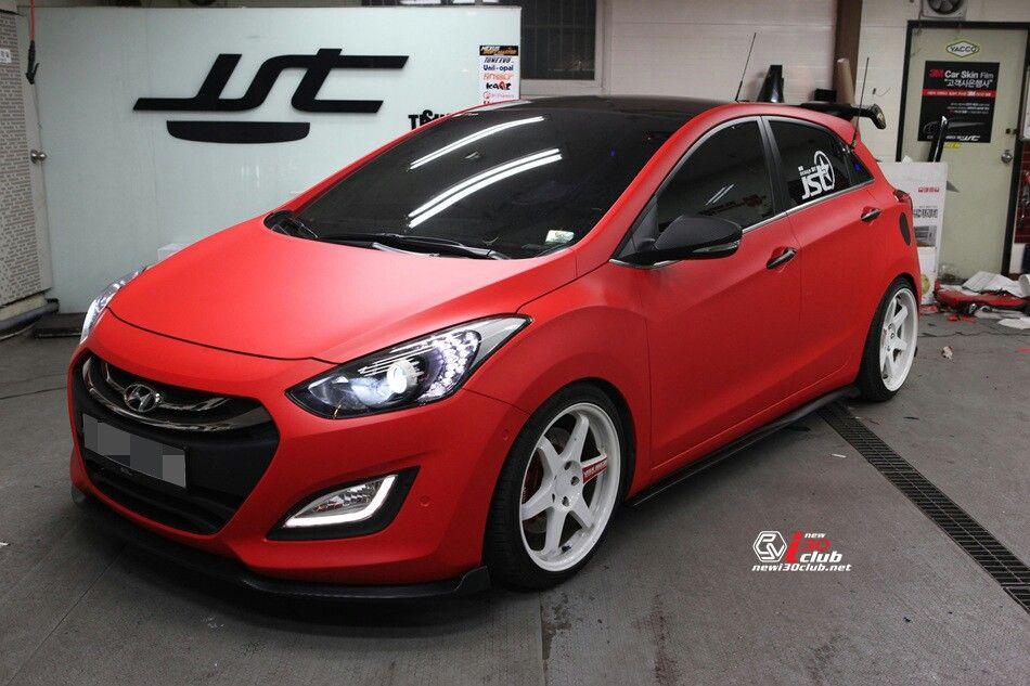 Hyundai i30 red matte I30, Hb20, Carros
