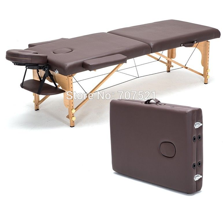 portable massage table furniture for beauty salon spa facial massage bed folding massage tables commercial beech