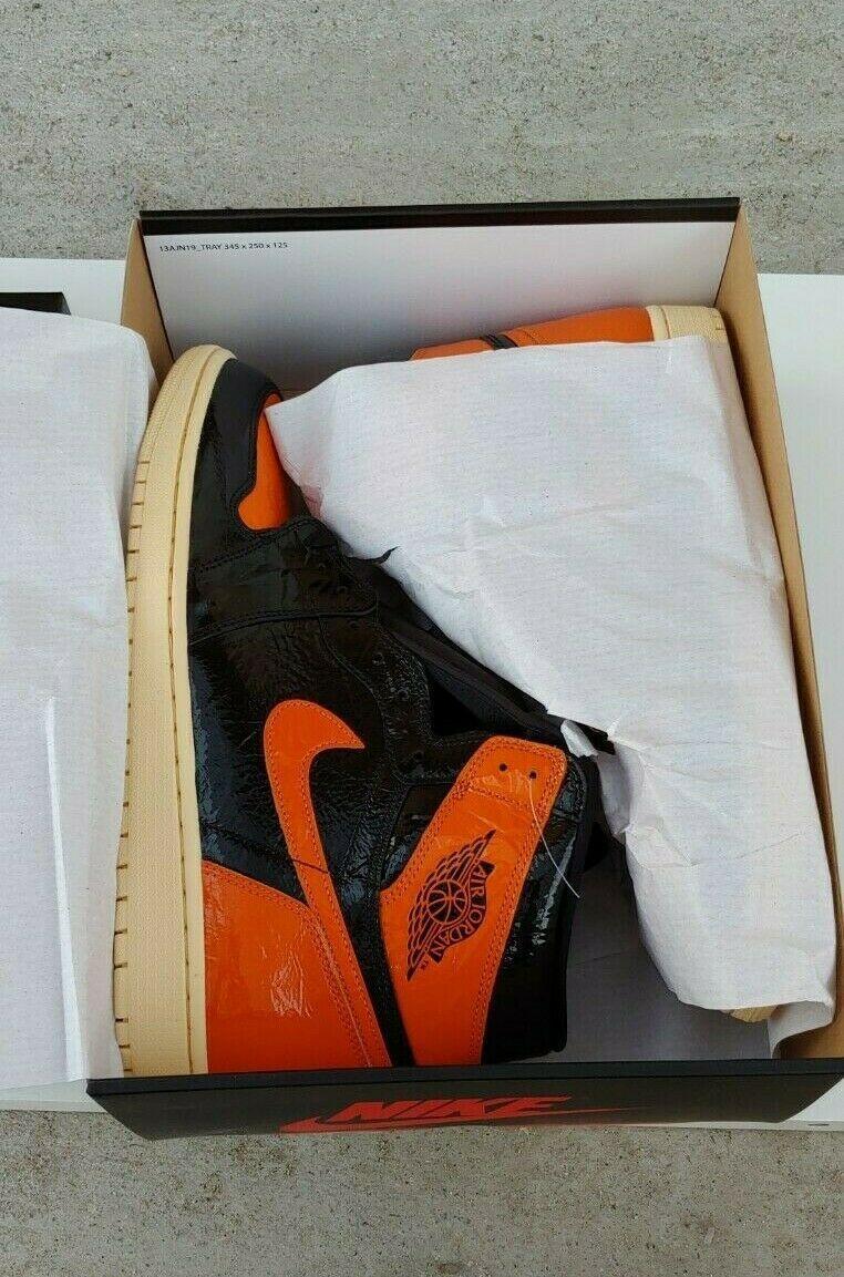 Air Jordan Retro 1 High Og Shattered Backboard 3 0 New Size 14 In