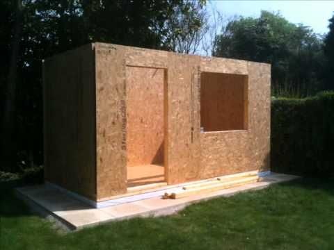 Quick Sips Garden Building Construction Garden Room Structural Insulated Panels Garden Buildings
