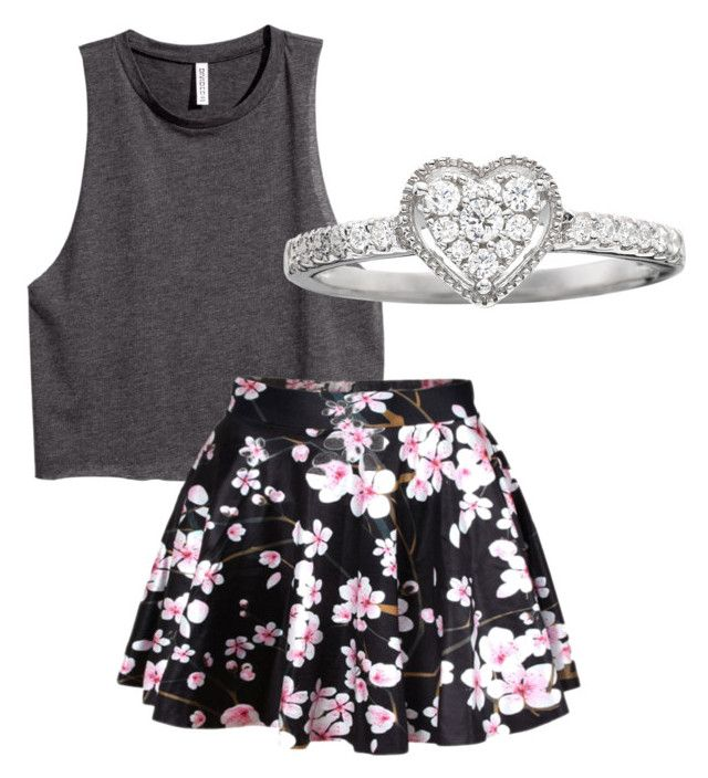 """Posh"" by amhsoftballqueen ❤ liked on Polyvore featuring H&M"