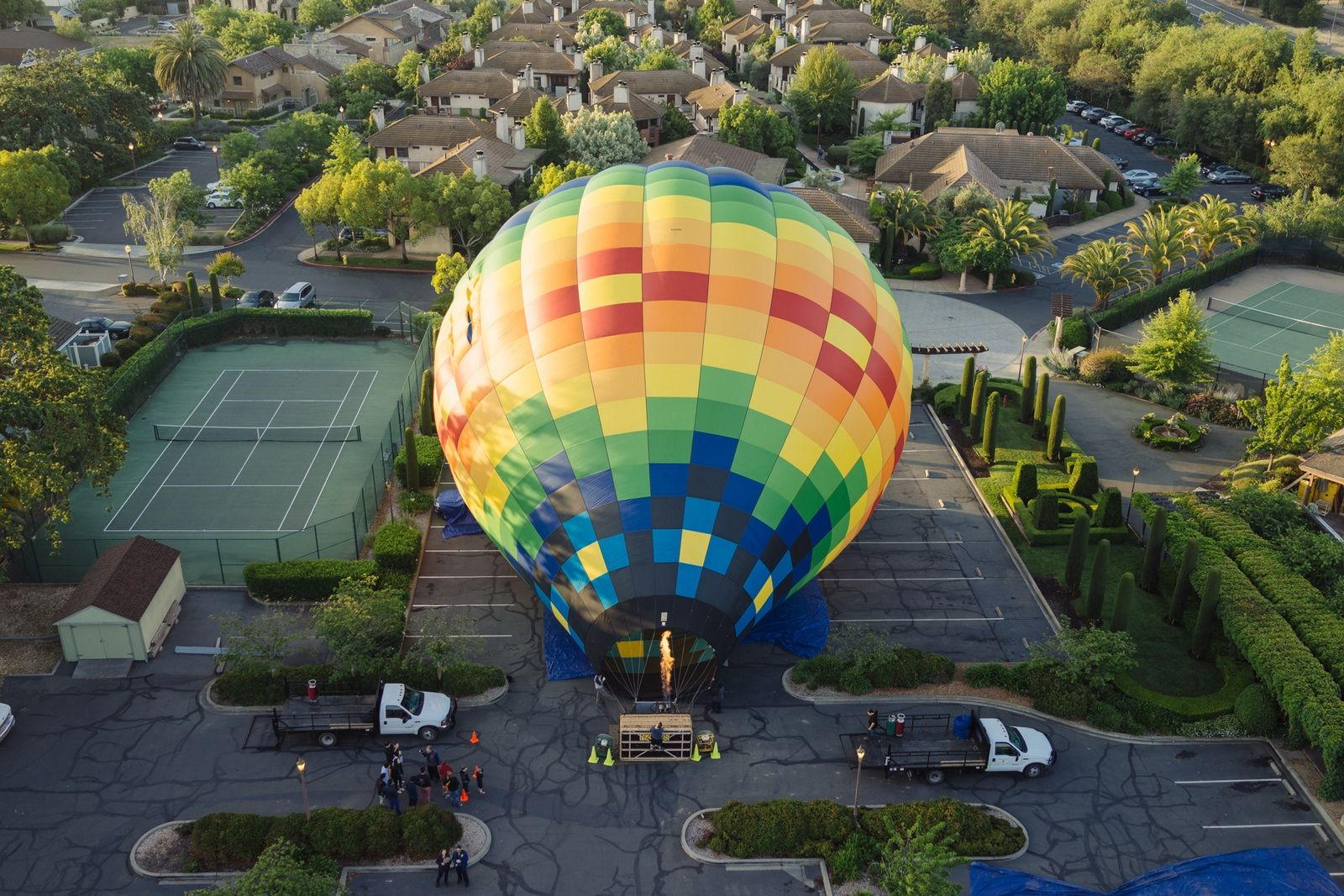 Hot Air Ballooning by Chris Welch Exposure Balloon