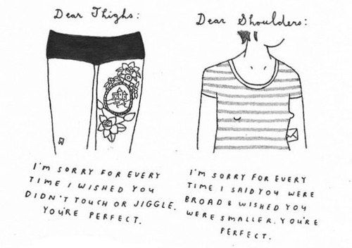 Feminist  Tumblr  Body Positive  Yourself    Body