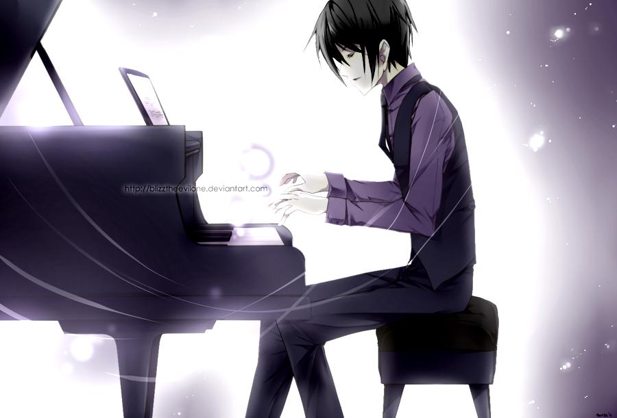 Mfoni mbuayɛ ɛma pianist boy anime