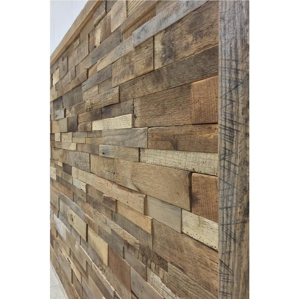 1 In X 39 5 In X 11 5 In Reclaimed Natural American Barn Wood