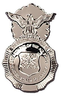 Security Forces Shield  My Job for 4 years in the Air Force