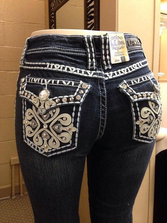 ba58f130735 LA Idol Jeans Sparkly Jeans Pretty Jeans by flutterforfashion ...