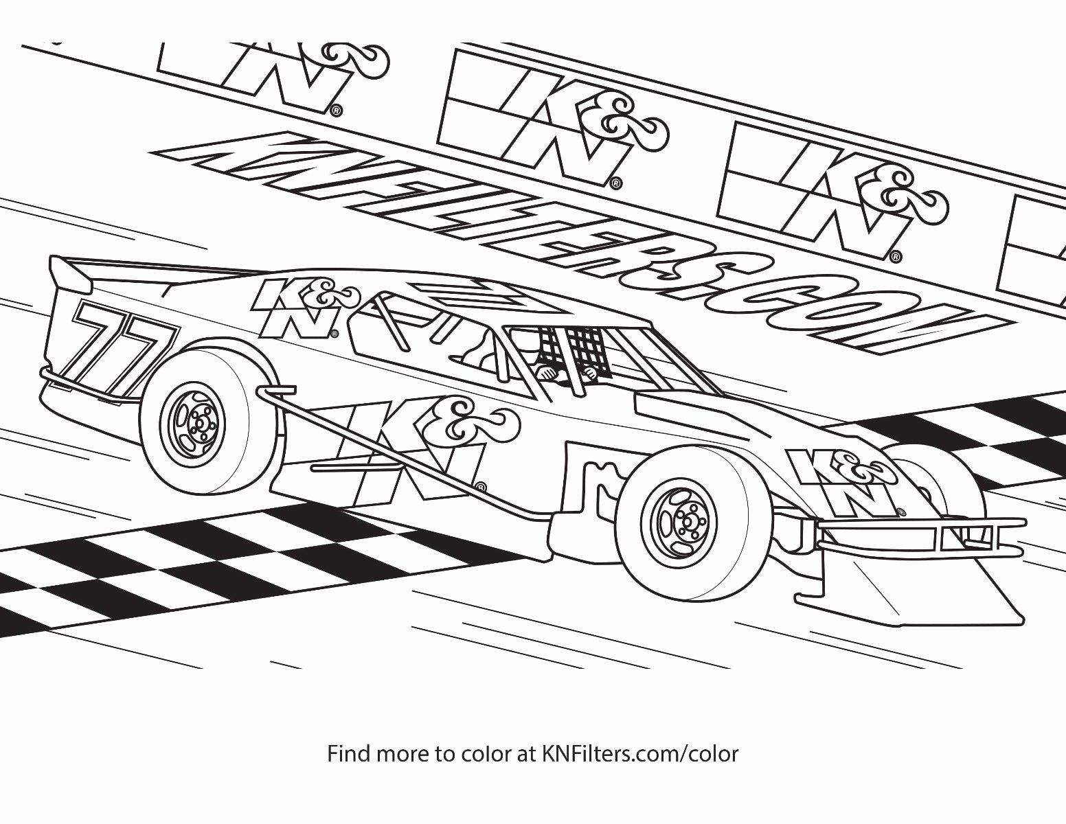 Race Car Coloring Page Luxury K N Printable Coloring Pages For Kids Cars Coloring Pages Race Car Coloring Pages Truck Coloring Pages