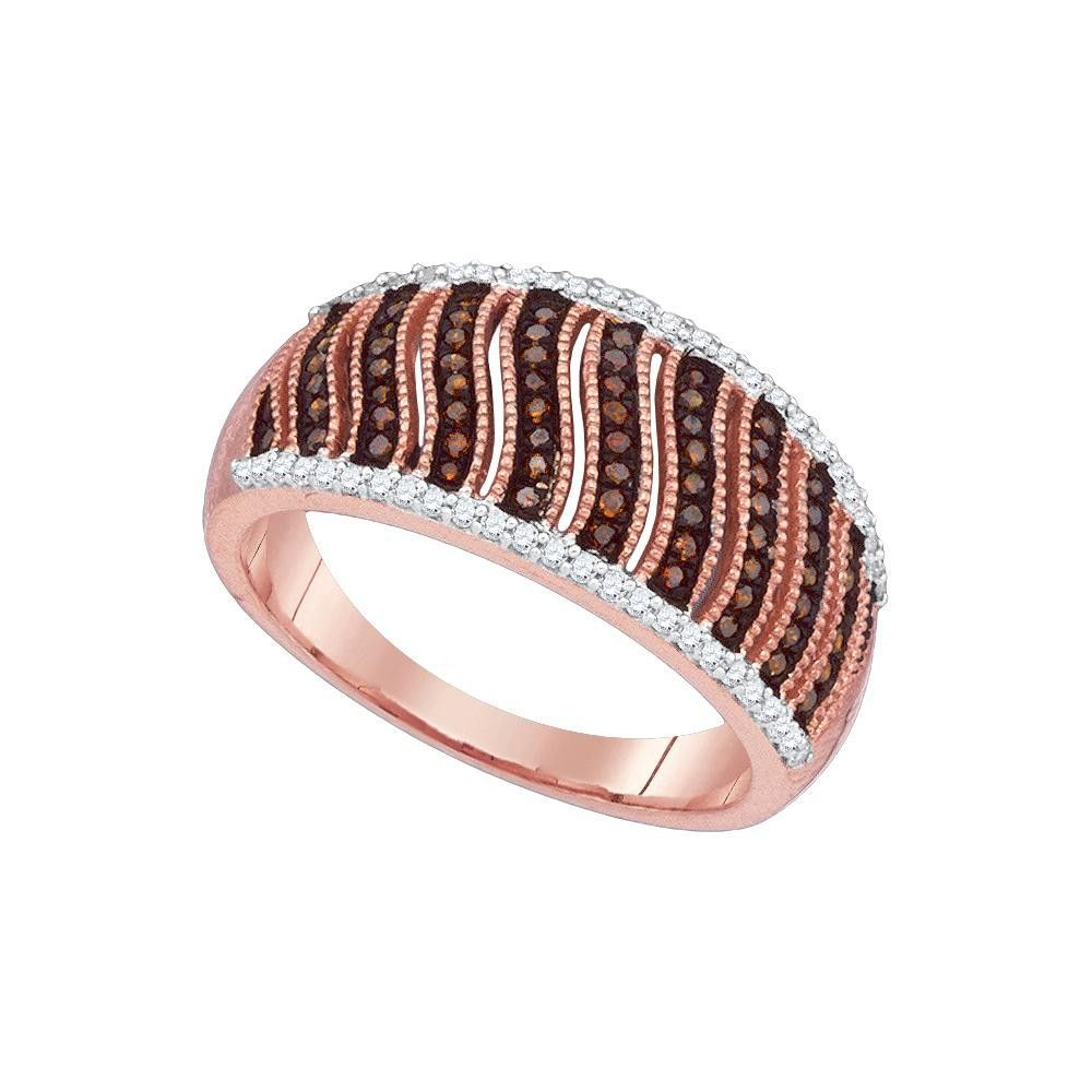 Ctwdiamond micropave red ring rings and red