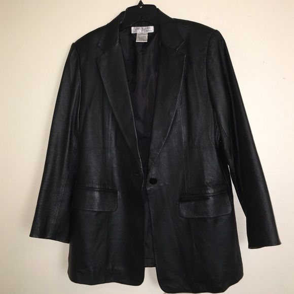 080f5ff4c Leather Blazer/coat Leather coat by Tower Hill collection in great ...