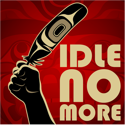 "Idle No More: Global Super-Movement. What started as a murmur in early October from First Nations People in Canada in response to Bill C45 has become a movement that echoes the sentiments of people all over the world, a battle cry of love for the planet, ""Idle No More."" At first glance it might appear that this movement is isolated and doesn't effect you if you are not native or if you don't live in Canada, yet it does."