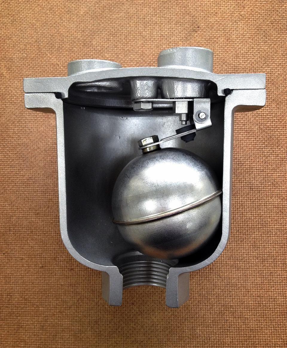 Air Release Valve Sectional View Control valves, Valve