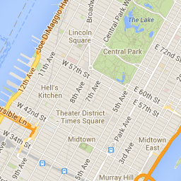 Catcher in the Rye - Google Maps | Places to Visit | New york ... on