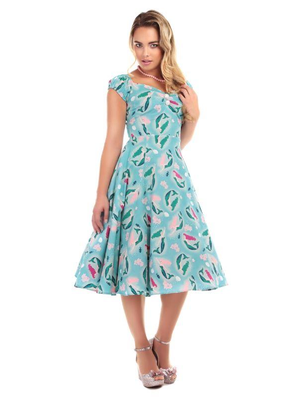 3971181007ce Dolores Mermaid Print Doll Dress 0