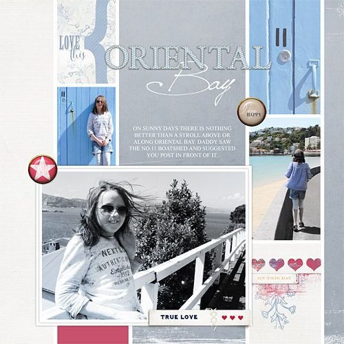 ORIENTAL BAY Lyon kit and Lyon cards and tags, Lynn Grieveson, Designer Digitals