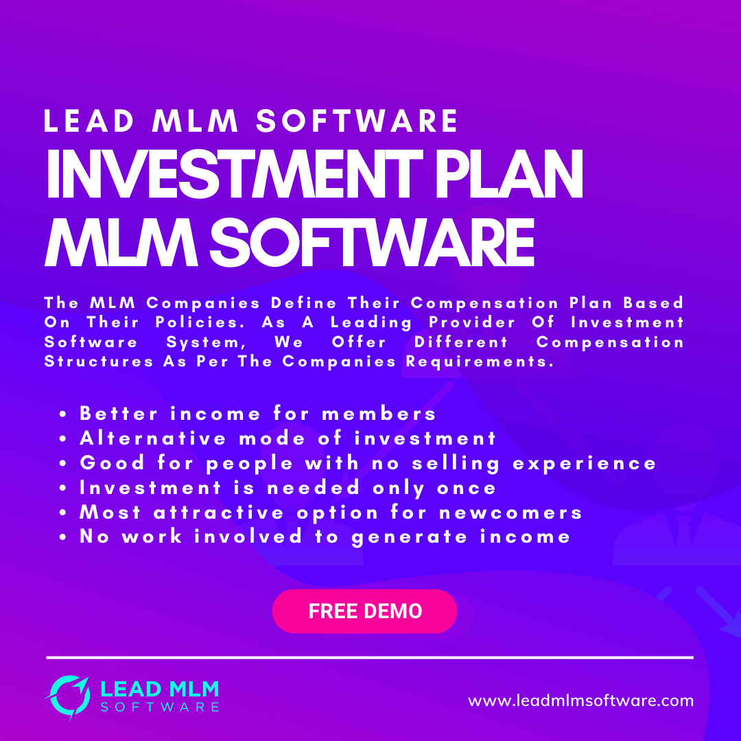 The Best Investment Plan Mlm Software Is Here Investing Mlm Plan How To Plan