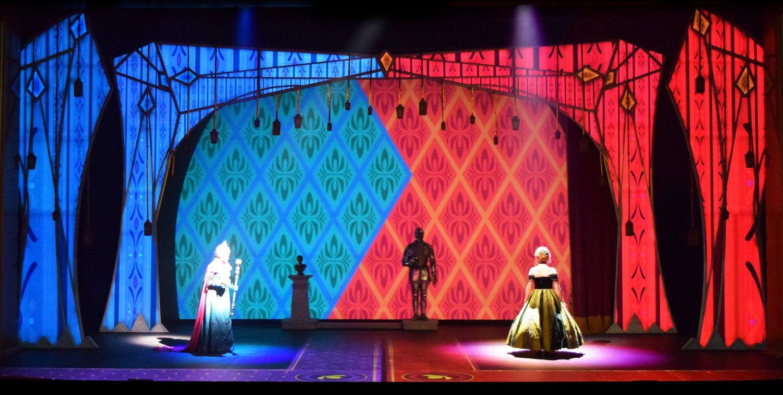Split Stage Set Design Theatre Scenic Design Scene Design