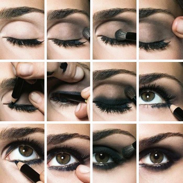 Maquillaje \u201cOjos Ahumados\u201d Este estilo de maquillaje está muy de