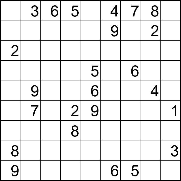 Sudoku Para Imprimir Nº 6 Sudokus Imprimir Sobres Material Didactico Para Matematicas