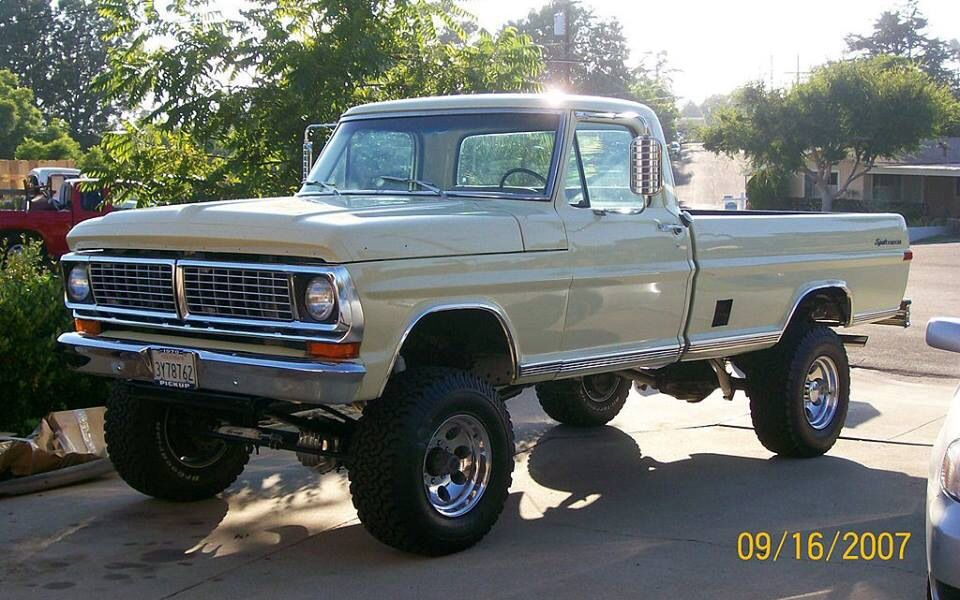 Pin By Jerry Miller On 70 S Classic Ford Trucks Trucks Ford