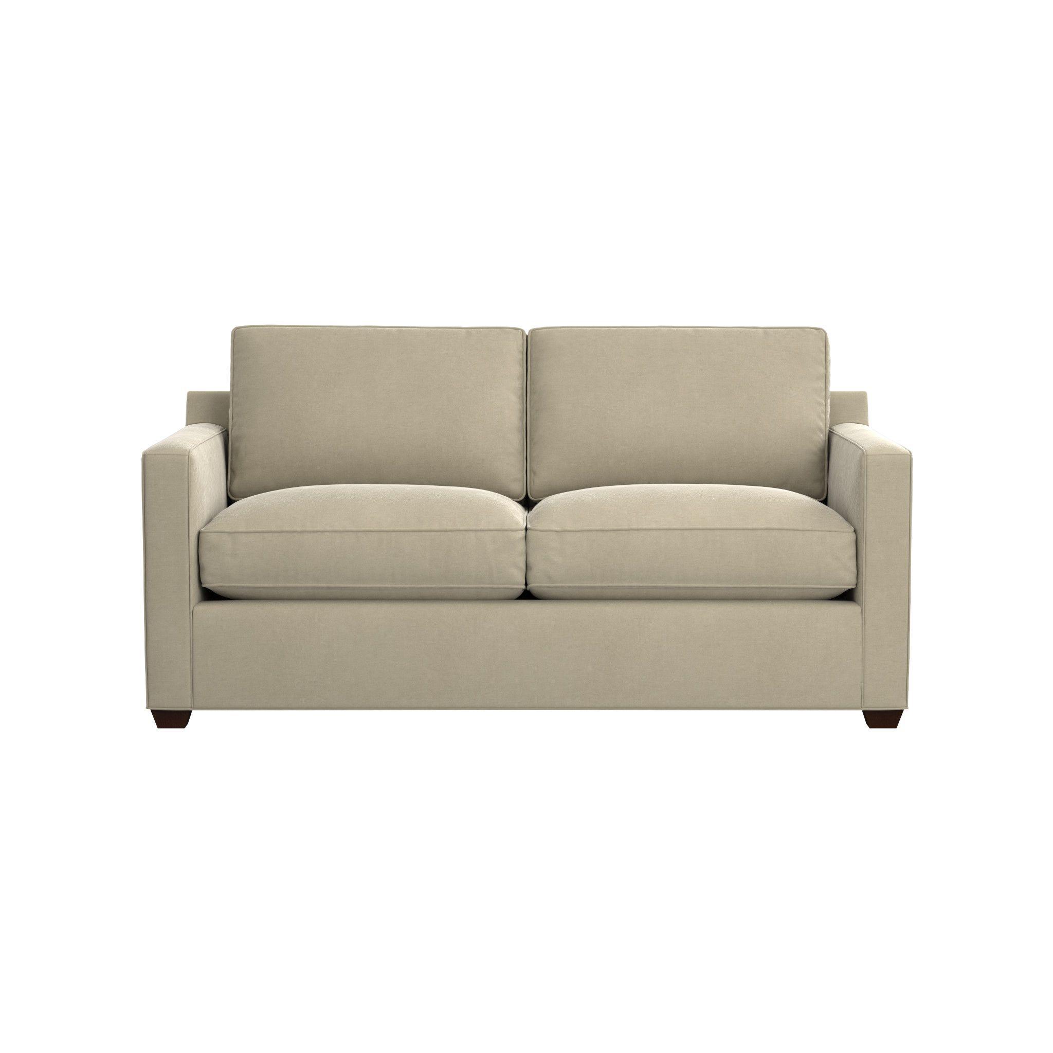 Shop Davis Full Sleeper Sofa with Air Mattress. Topped
