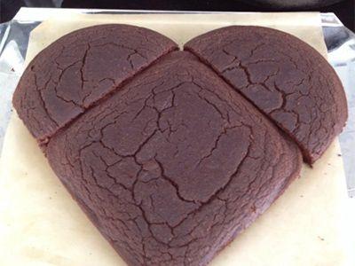 envie de préparer un joli gâteau en forme de cœur pour votre chéri