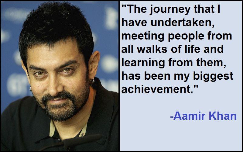 Motivational Aamir Khan Quotes And Sayings - Tech Inspiring Stories   Aamir  khan, Khan, National film awards