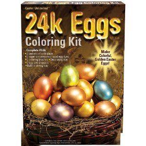 24 Karat Easter Egg Coloring Kit 1179