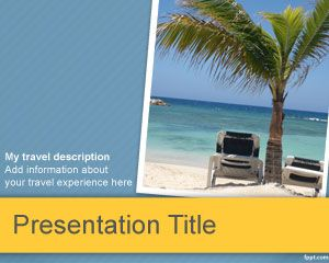 Tourism powerpoint template is a free vacation theme for power point tourism powerpoint template is a free vacation theme for power point presentations toneelgroepblik Image collections