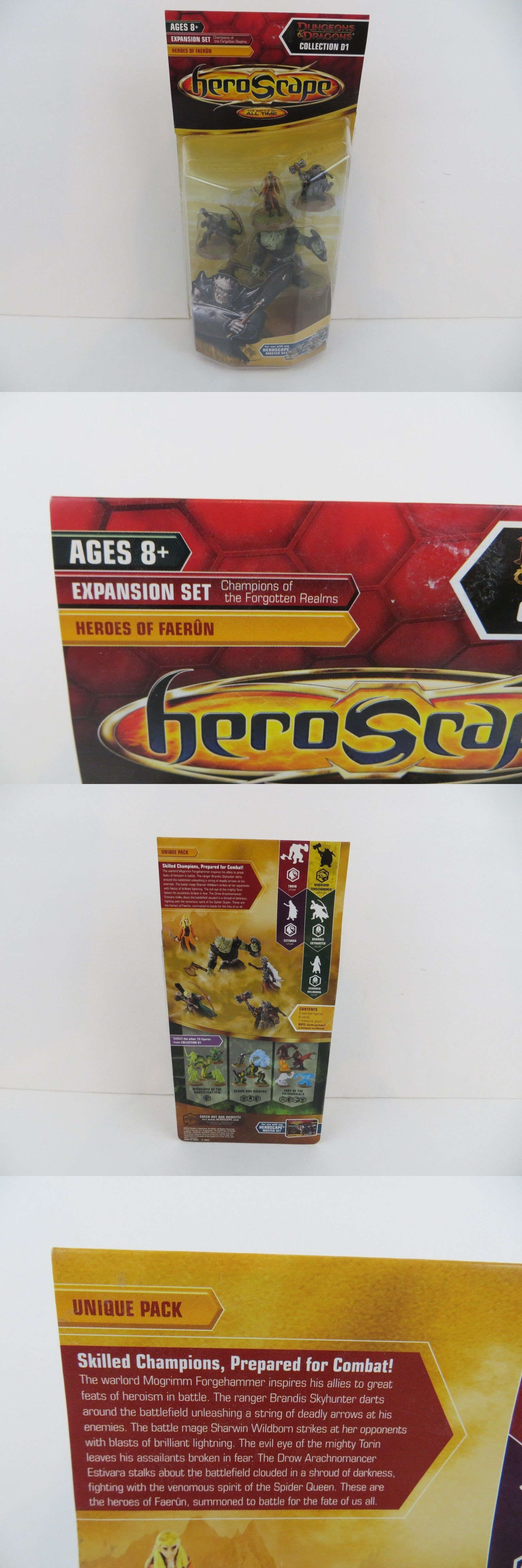 Heroscape 158715 Heroscape Dungeons And Dragons D1 Heroes