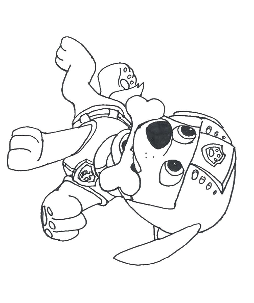 Paw patrol colouring pages free - Paw Patrol Coloring Pages