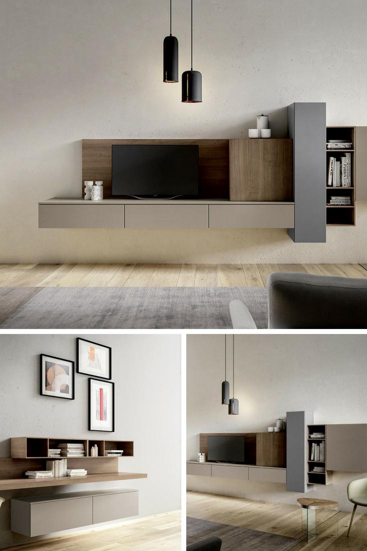 living moderni e classici nel 2019 arredamento salotto On mobili contemporanei moderni