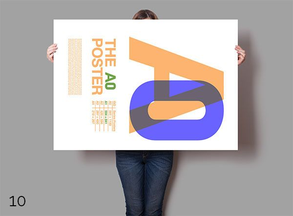 Poster Mockup On Behance Poster Mockup Poster Trifold Brochure Template
