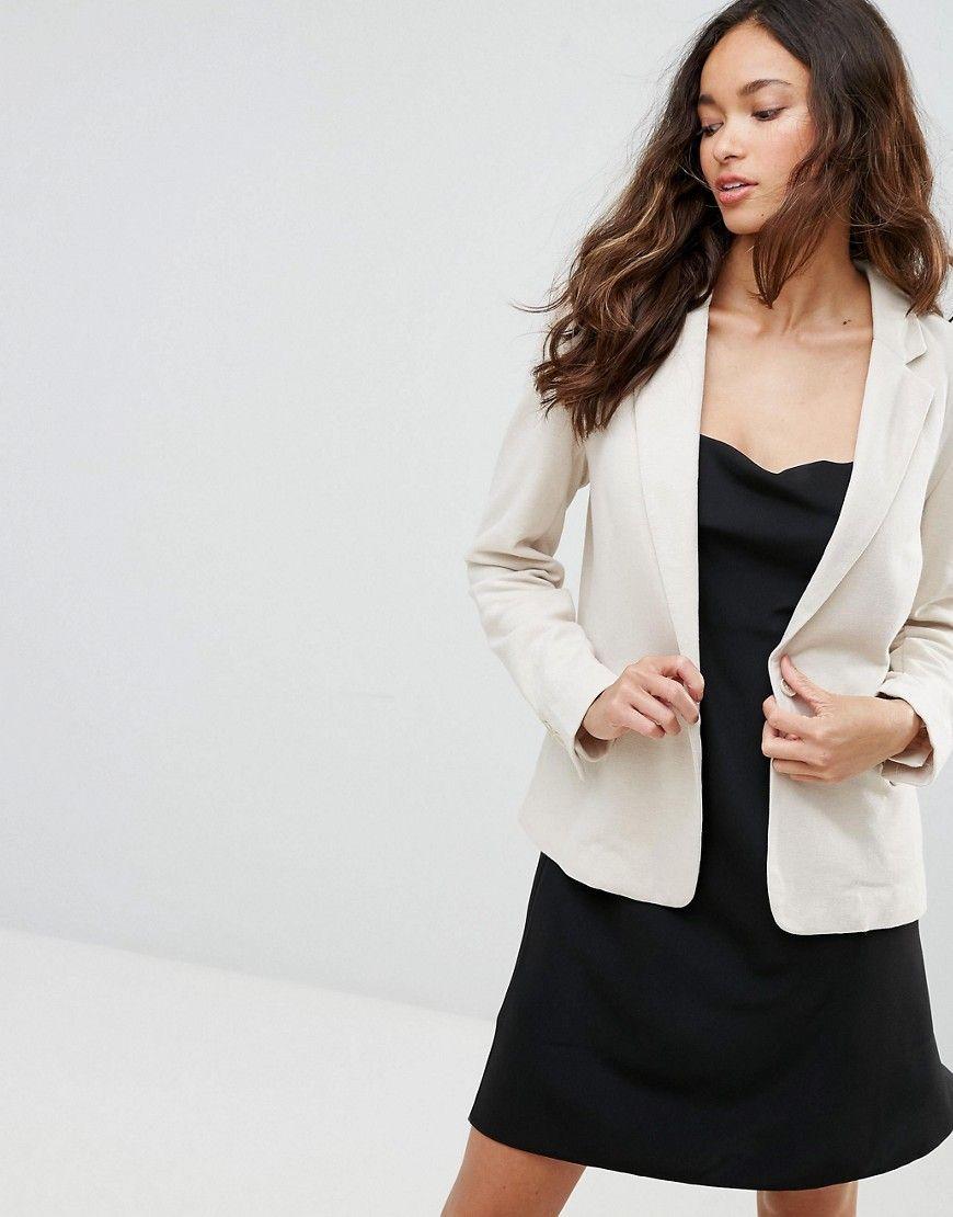 c63bb84b4c Buy it now. Vero Moda Tailored Blazer - Beige. Blazer by Vero Moda ...