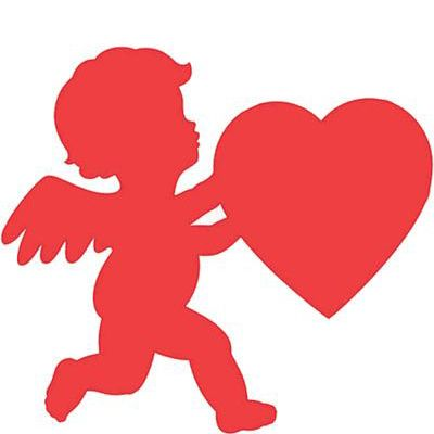 Cupid Cutouts For Valentine S Day Decorations Valentines Day Decorations Valentine Cupid Valentines Day Party