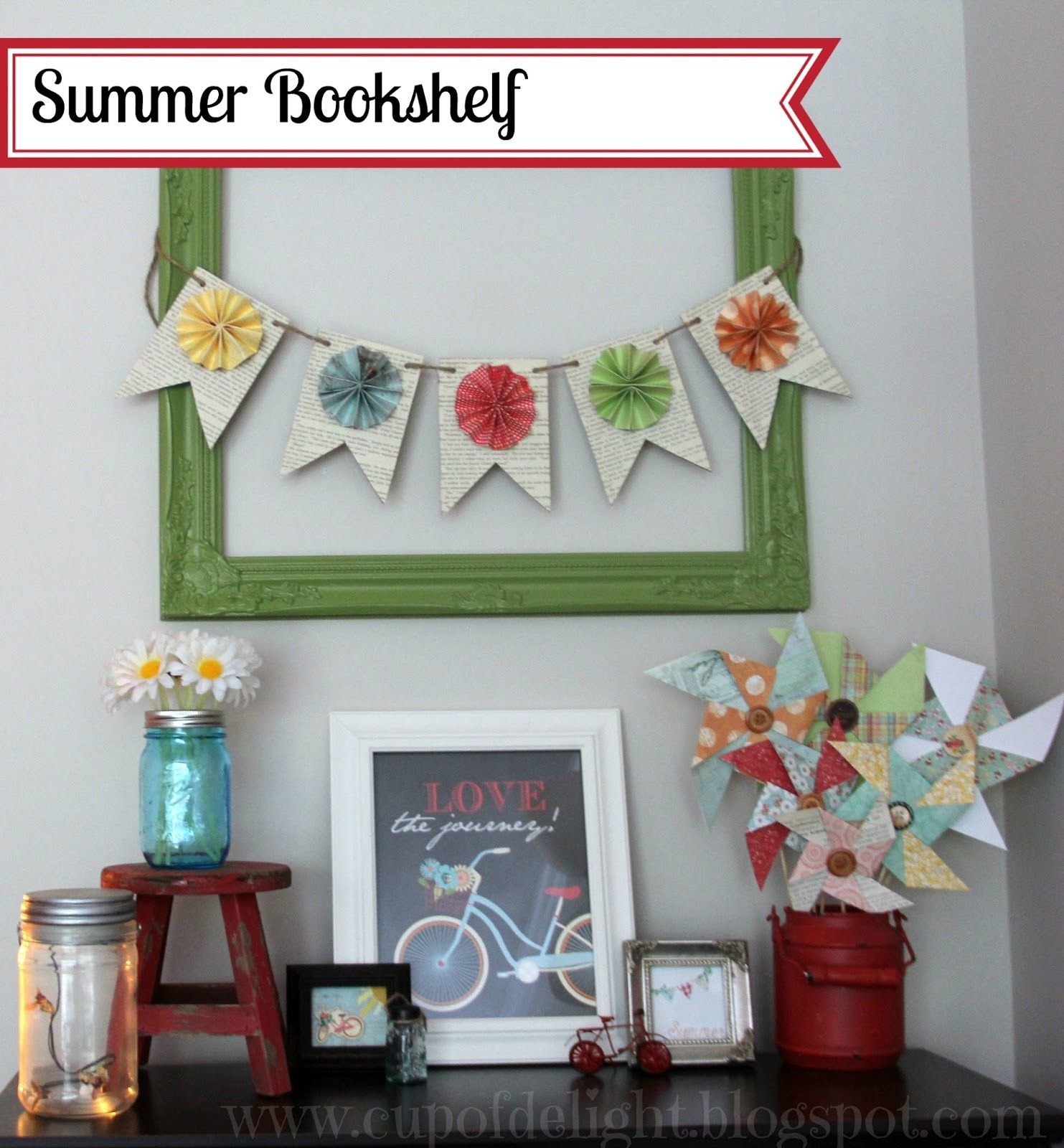 Cup of Delight: Summer Bookshelf
