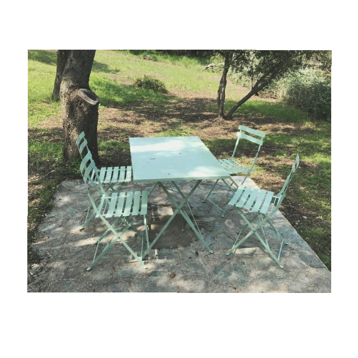 Emilia Pastel Alice\'s Garden : Ensemble de jardin bistrot, table ...
