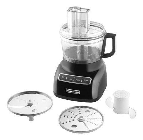 Kitchenaid 7 Cup Food Processor Onyx Black Food