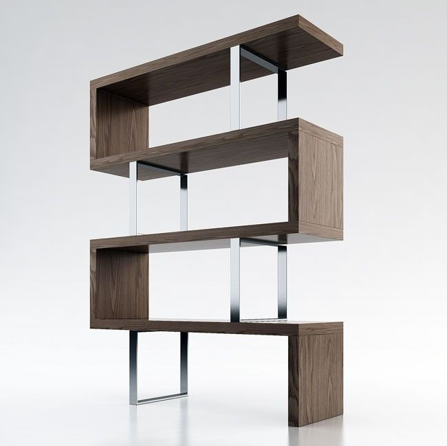 Pearl Bookcase The Pearl Bookcase By ModLoft Adds A Modern Edge To