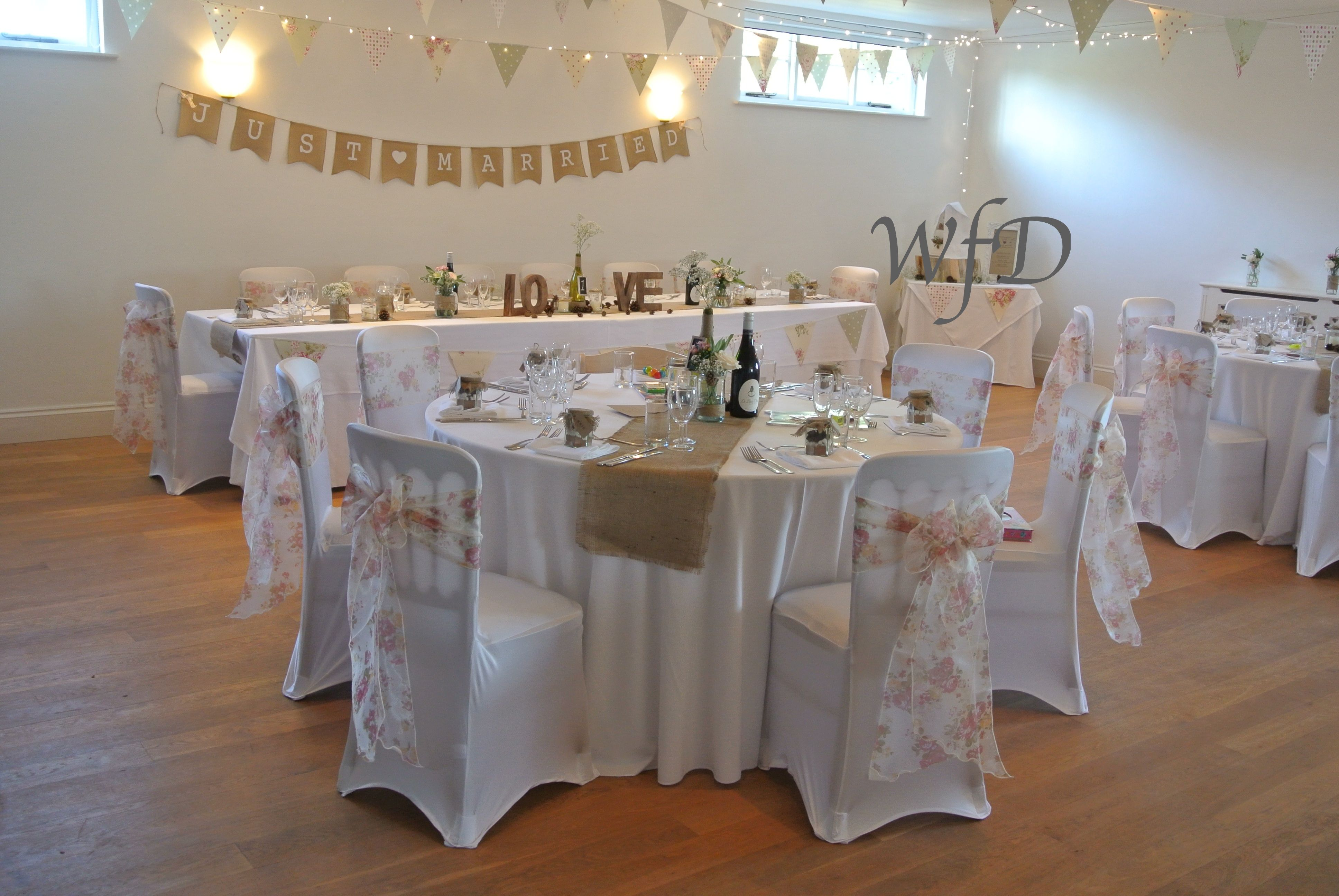 Kingston estate devon wedding chair cover sash hire and table designs