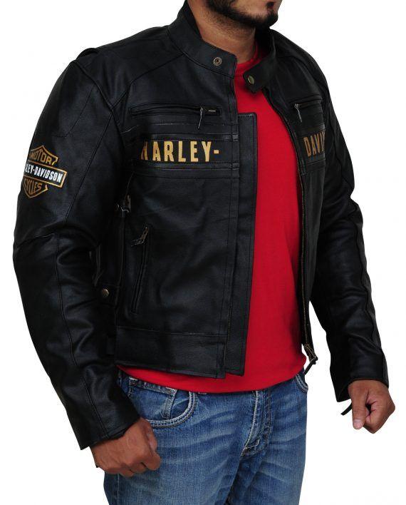 Harley Davidson Men S Passing Link Triple Vent Jacket Vented Jacket Harley Davidson Men Harley Davidson