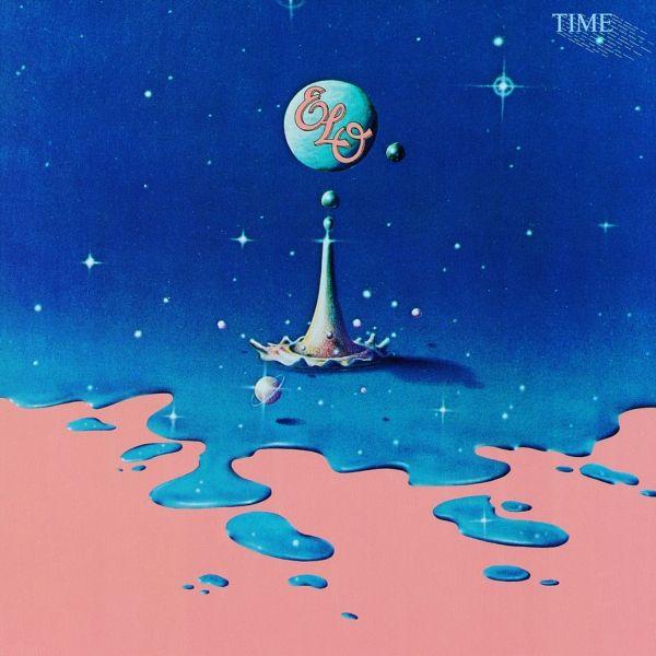 Electric Light Orchestra Time Rdio Album Cover Art Album Art Cover Art
