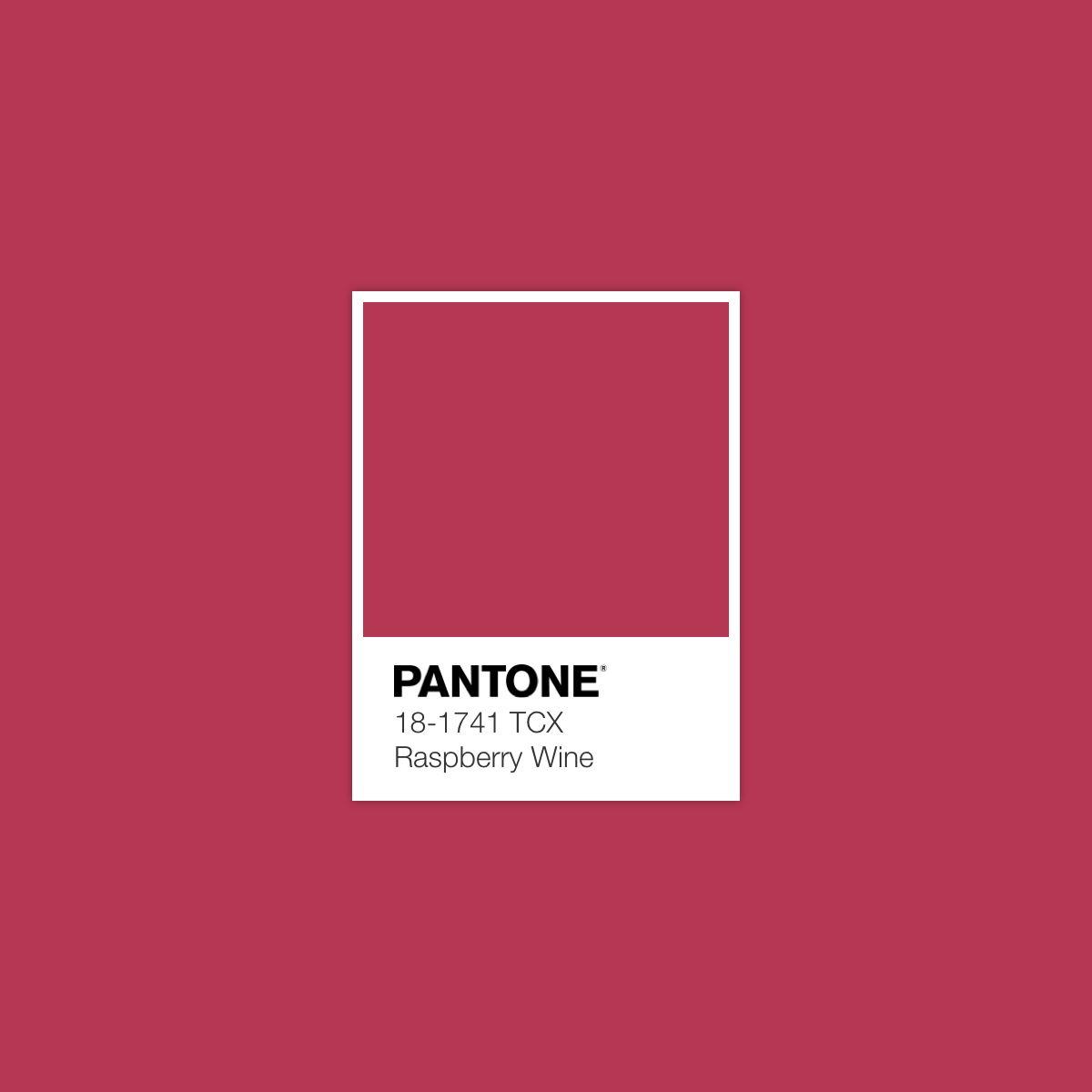 Pantone Raspberrywine Luxurydotcom Pantone Colour Palettes Pantone Color Pantone Palette