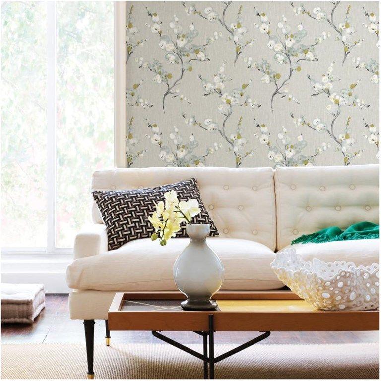 Wallpops 20 5 X18 Mirei Peel And Stick Wallpaper Home Hardware Wallpaper Decor Decorideas Vintage Floral Wallpapers Peel And Stick Wallpaper Nuwallpaper