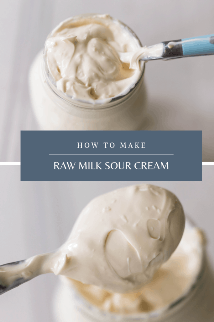 How To Make Sour Cream From Raw Milk Recipe In 2020 Make Sour Cream Sour Cream Recipes Raw Milk
