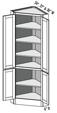 Pantry Corner Cabinet With Tall Corner Cupboard Kitchen Kitchen